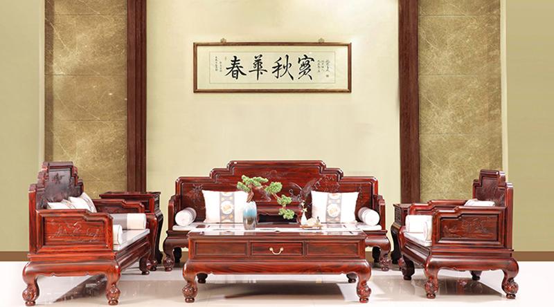 精美与变化都是独树一帜的新中式家具